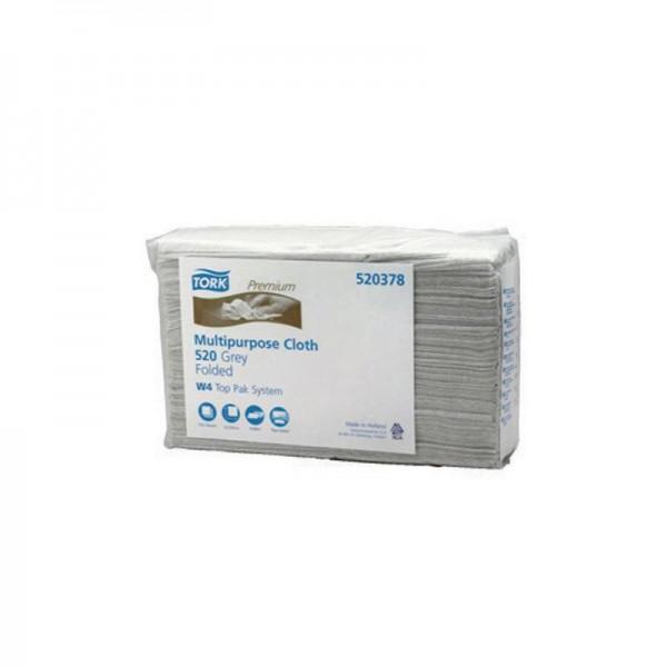 Reinigungstücher 1 lagig grau TORK 520678