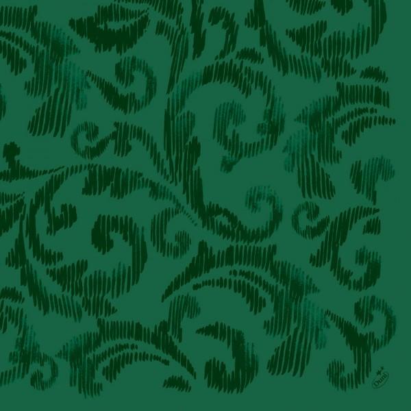 DUNI Dunilin Serviette 40x40cm 1/4F. Saphira dunkelgrün