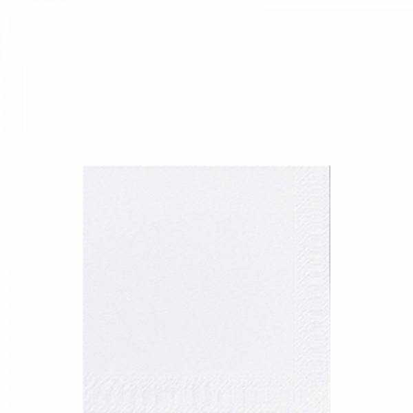 DUNI Zelltuch Serviette 24x24 cm 3-lagig weiß