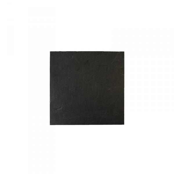 Schieferplatte quadratisch 10x10 cm