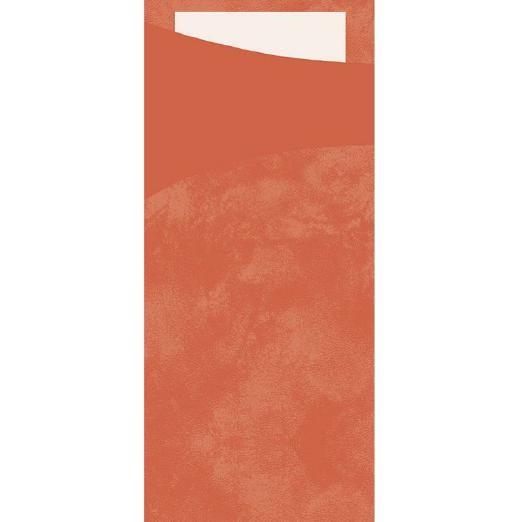 DUNI Serviettentasche Sacchetto 190x85 mm mandarin