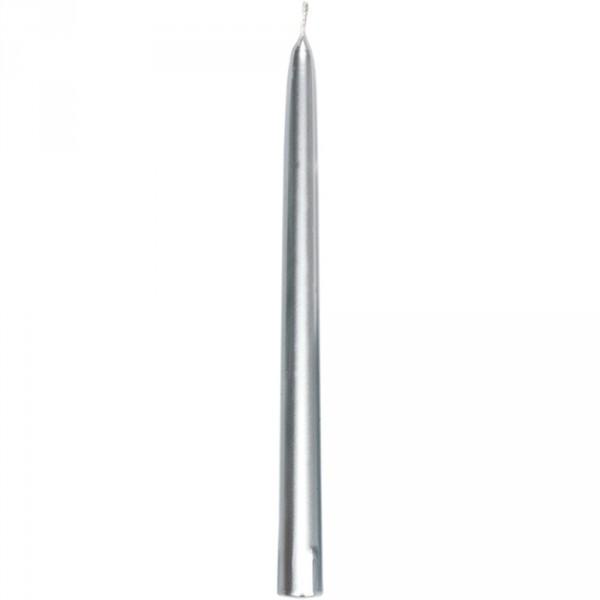 Leuchterkerzen DUNI 260 x 22 mm  Silber