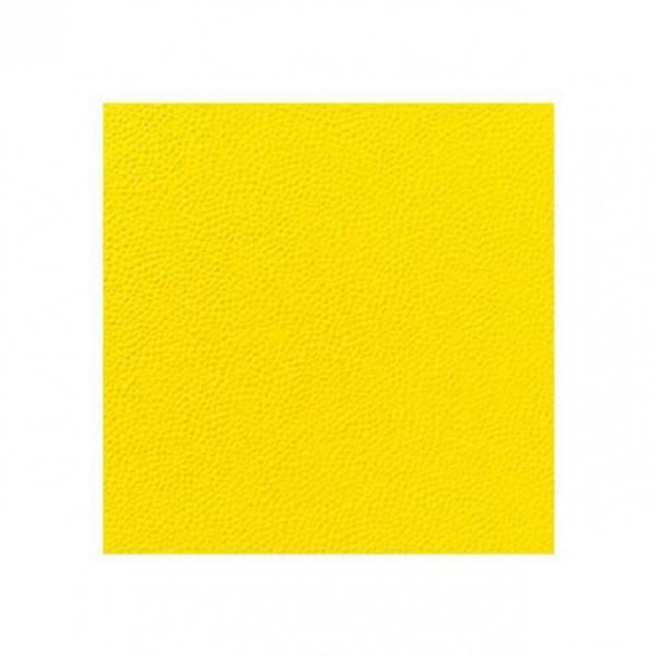 DUNI Zelltuch Serviette 33x33 cm 1/4F. gelb 1 lagig