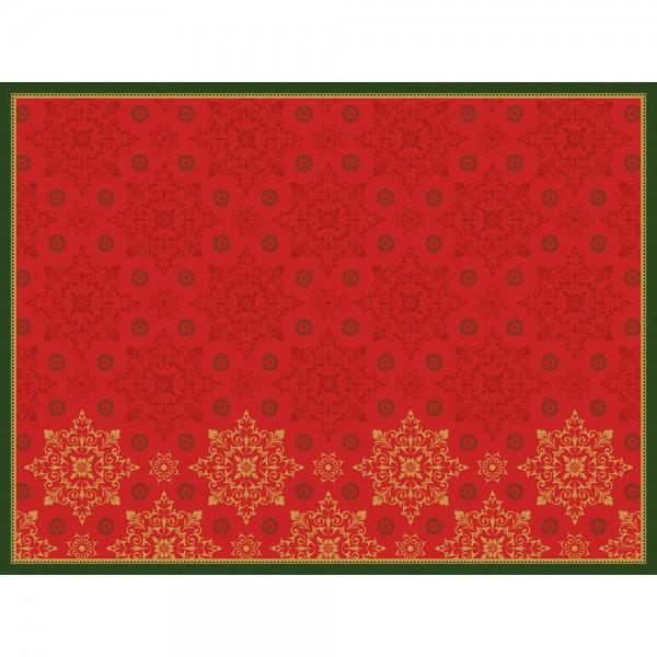 DUNI Tischset Dunicel 30x40 cm XMAS Deco Red