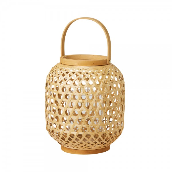DUNI Laterne aus Rattan 255 x 240 mm Area