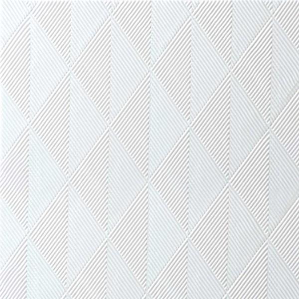 DUNI Elegance Serviette 48x48 cm 1/4F.Crystal weiß