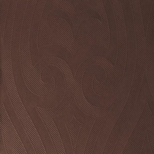 DUNI Elegance Serviette 48x48cm 1/4F.Lily Chestnut
