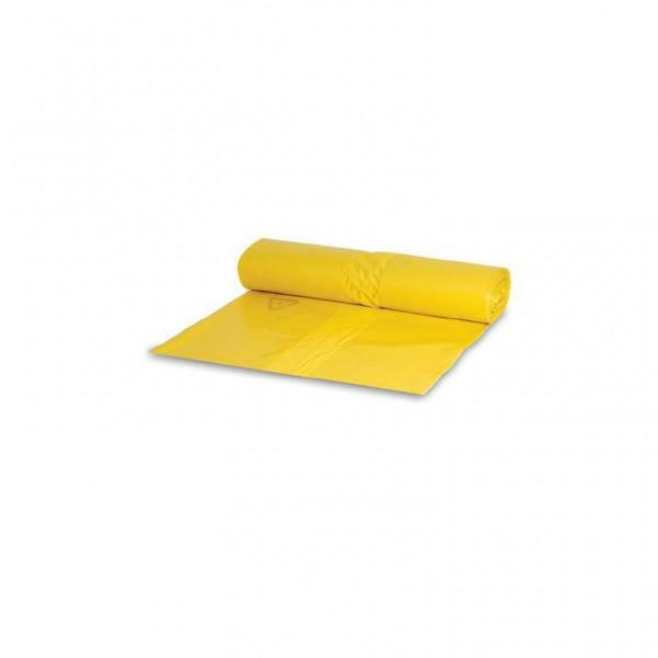 Müllsack 70l. gelb 57,5x100cm