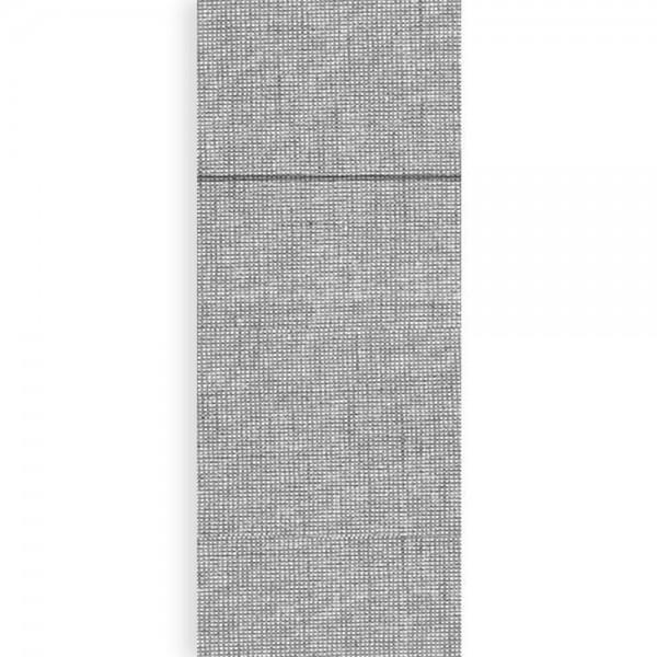Serviettentasche Airlaid 40 x 32 cm Iuta Grau
