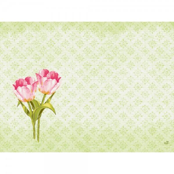 DUNI Tischset Dunicel 30x40 cm Love Tulips