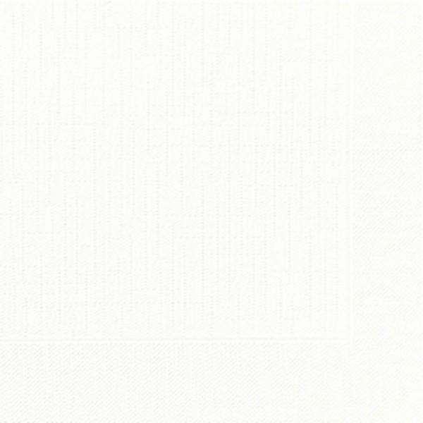 DUNI Klassik Serviette 40x40 cm 1/4F.weiß