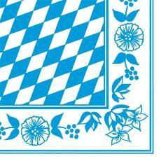 DUNI Dunisoft Serviette 40x40 cm 1/4 F.Bayern Raute