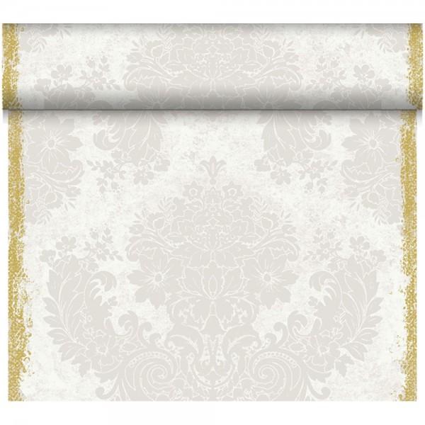 DUNI Tete-A-Tete Tischläufer Dunicel Royal White