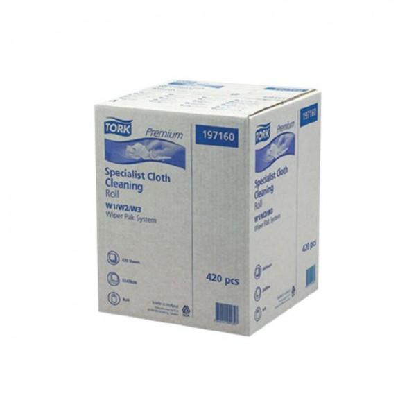 Reinigungstücher 1 lagig weiß TORK 530 137