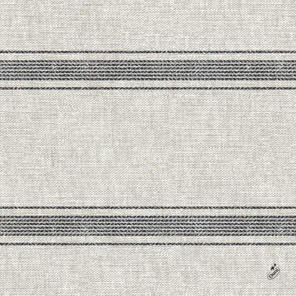 DUNI Klassik Serviette 40x40 cm 1/4F.Cocina Black