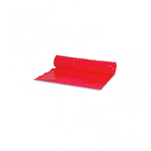Müllsack 70l. rot 57,5x100cm