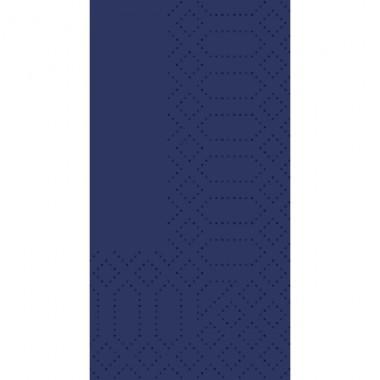 Fasana Zelltuch Serviette 40x40cm 1/8F. royal blau