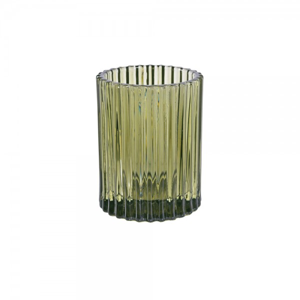 DUNI Kerzenglas Comodo 70x55cm Dunkelgrün