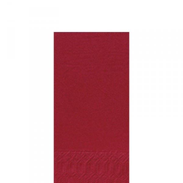 Fasana Zelltuch Serviette 33x33cm 1/8F. bordeaux
