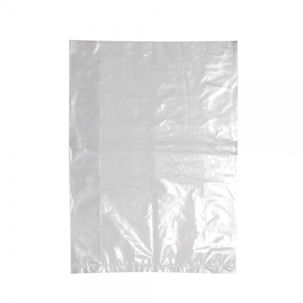 Poly-Seitenfaltenbeutel 22x8x30cm gelocht