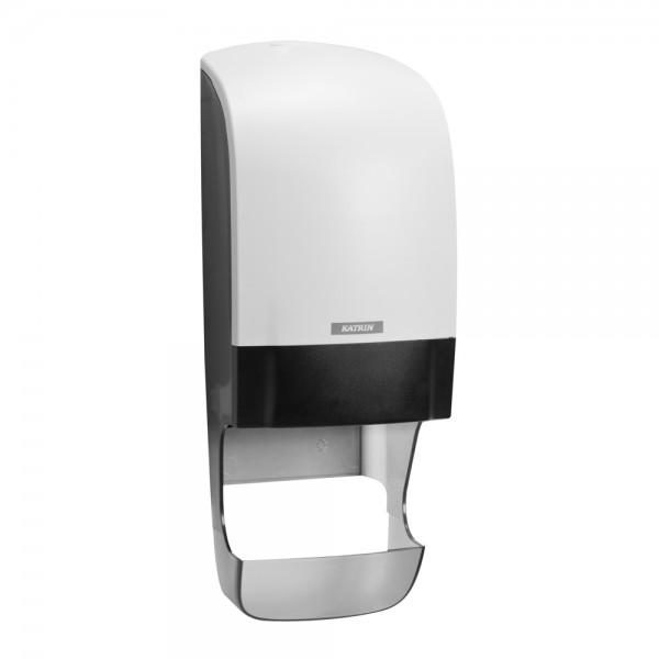 Katrin Toilettenpapierspender mit Hülsenfänger weiß