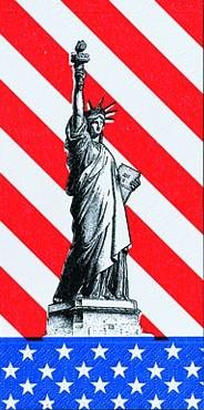 DUNI Zelltuch Serviette 40x40 cm 1/8F.USA