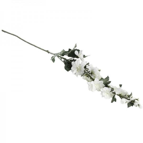 Deko-Rittersporn 108cm weiß