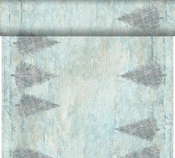 DUNI Tete-A-Tete Tischläufer Blue Winter