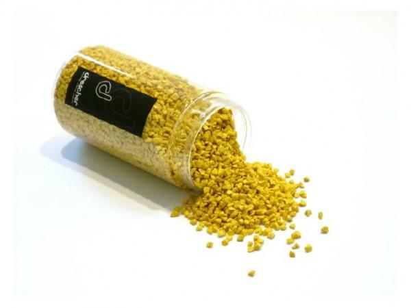 Deko-Granulat 370 ml gelb