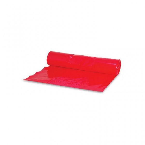Müllsack 120L. rot 70x110cm