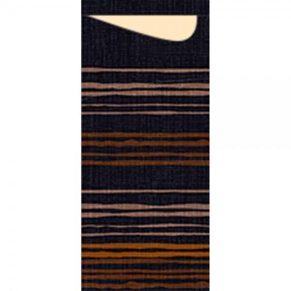 DUNI Sacchetto Tissue 190x85mm Brooklyn Black
