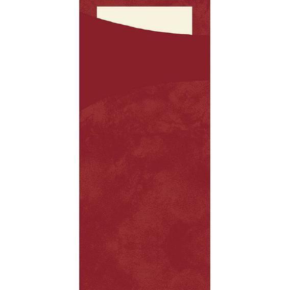 DUNI Serviettentasche Sacchetto 190x85 mm bordeaux