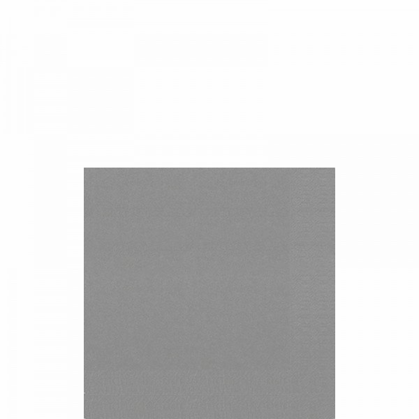 DUNI Cocktailserviette 24x24 cm 3-lagig granite grey