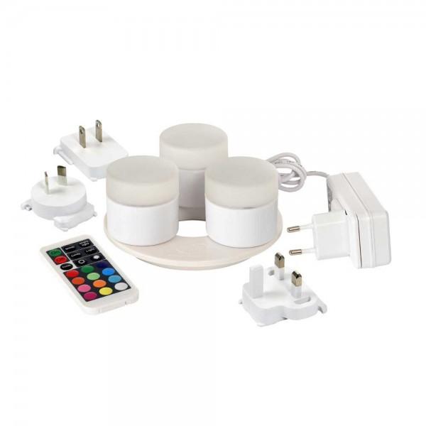 DUNI LED Mini Lamp 3 Stück 48x50 mm