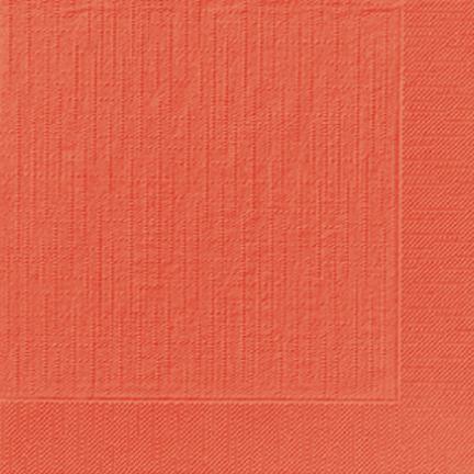 DUNI Klassik Serviette 40x40 cm 1/4F.mandarin