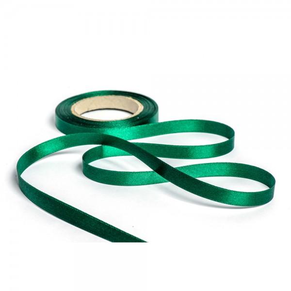 Geschenkband mit Druck 25mm breit 100 Meter jägergrün