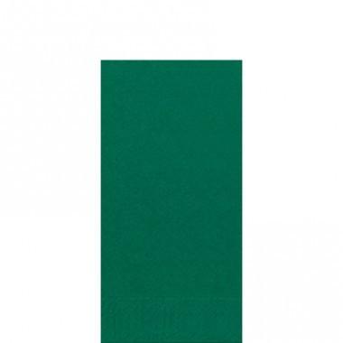 Fasana Zelltuch Serviette 33x33cm 1/8F. jägergrün