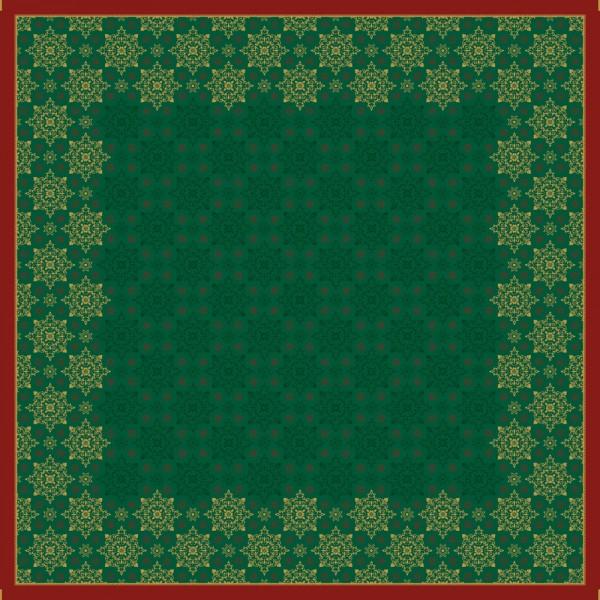 DUNI Mitteldecke 84x84cm Xmas deco green
