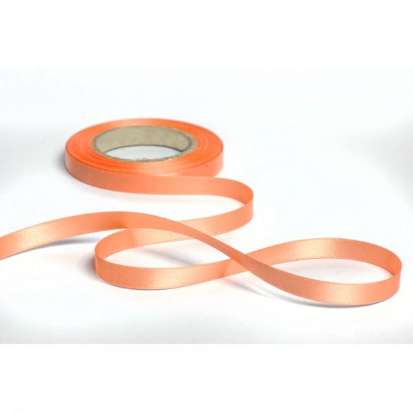 Geschenkband mit Druck 15mm breit 100 Meter lachs