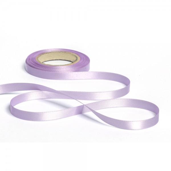 Geschenkband mit Druck 25mm breit 100 Meter flieder