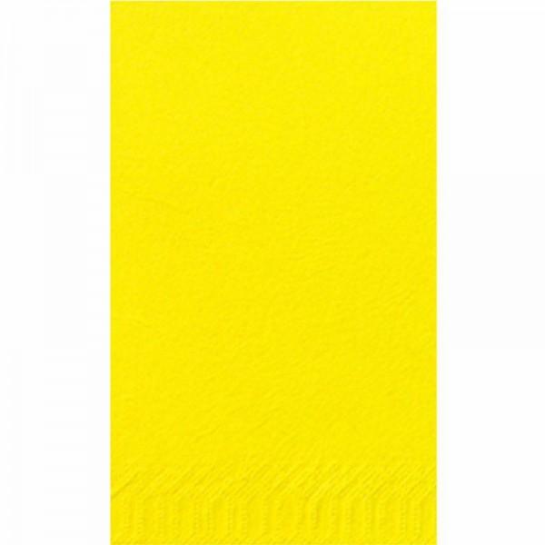 DUNI Zelltuch Serviette 40x40 cm 1/8F.gelb