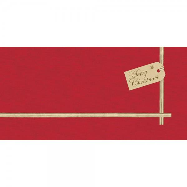 DUNI Mitteldecke Dunicel 84x84 cm Christmas Gift Red