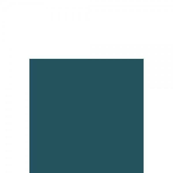 DUNI Zelltuch Serviette 33x33 cm 1/4F. meerblau
