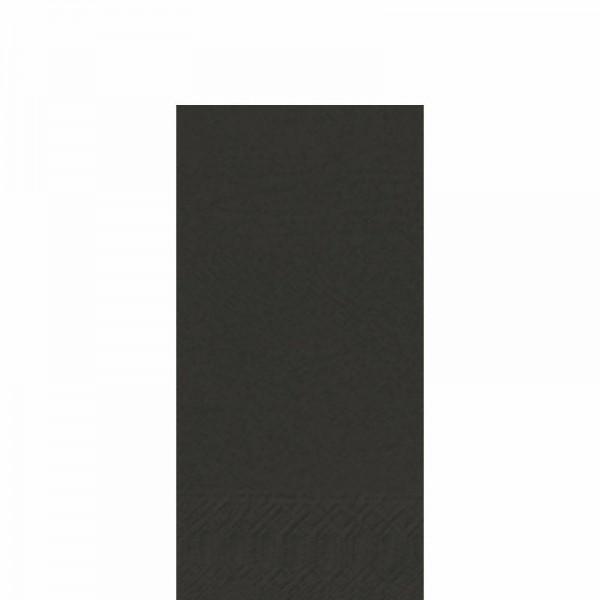 DUNI Zelltuch Serviette 33x33 cm 1/8F. schwarz