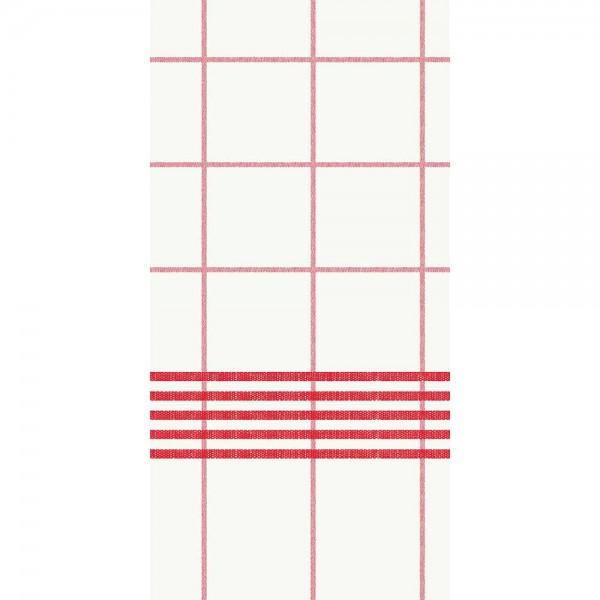 Duni Dunisoft Serviette 48x48cm 1/8 F.Towel Red
