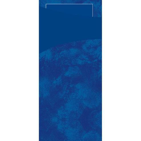 DUNI Serviettentasche Sacchetto 190x85 mm dunkelblau