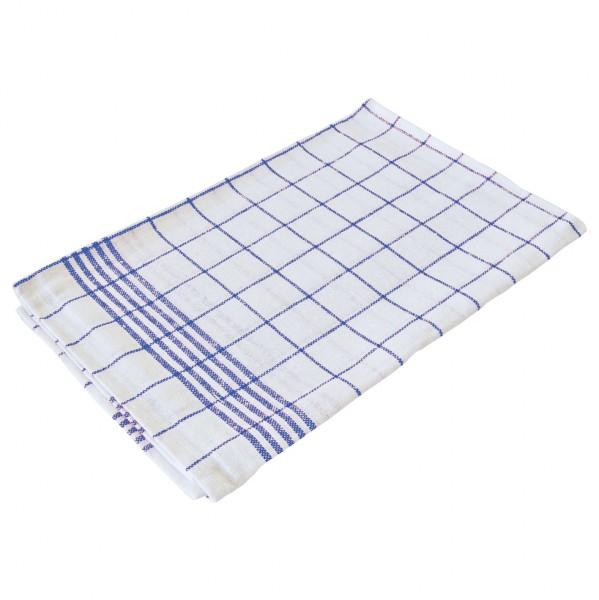 Geschirrtuch 50 x 70 cm blau / weiß kariert