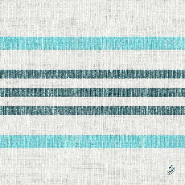 DUNI Klassik Serviette 40x40 cm 1/4F.Raya blue
