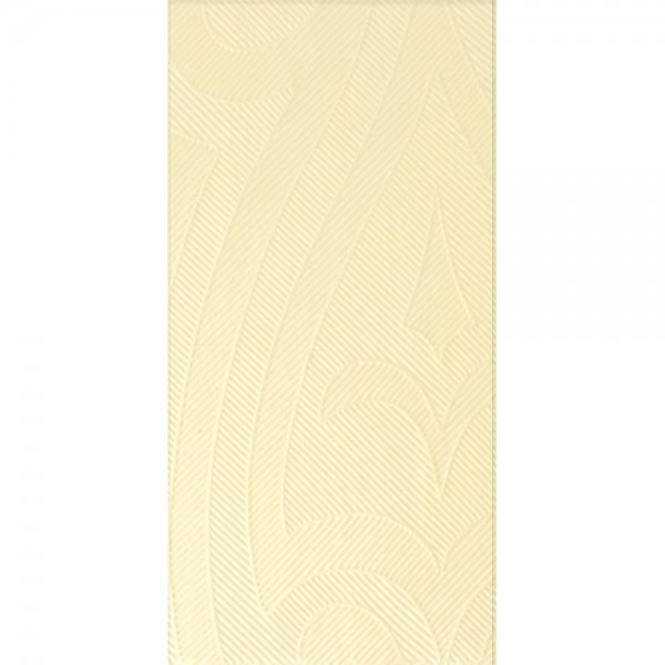 DUNI Elegance Serviette 48x48 cm 1/8F. Lily creme