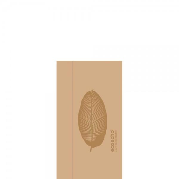 DUNI Spenderserviette 33x32cm 1-lagig Organic Braun